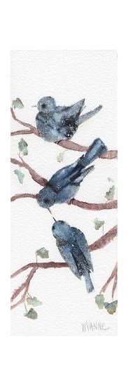 Three Birdies-Wyanne-Giclee Print