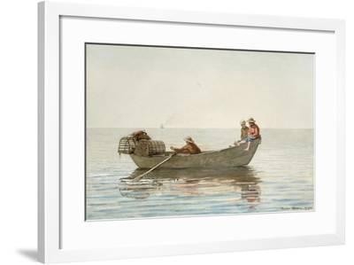 Three Boys, 1875-Winslow Homer-Framed Giclee Print