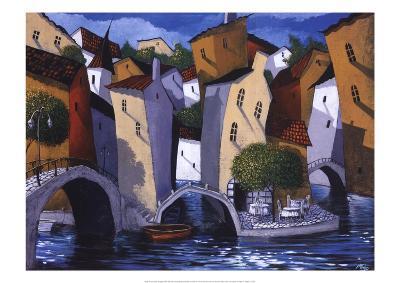 Three Bridges-Miguel Freitas-Art Print