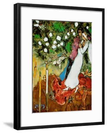 Three Candles-Marc Chagall-Framed Art Print