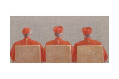 Three Cardinals, 2010-Lincoln Seligman-Giclee Print
