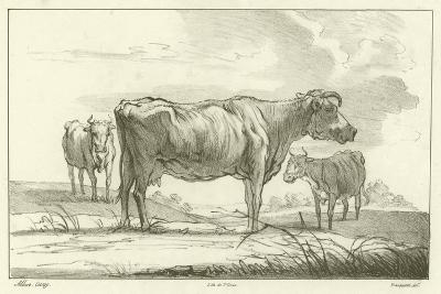 Three Cows-Aelbert Cuyp-Giclee Print