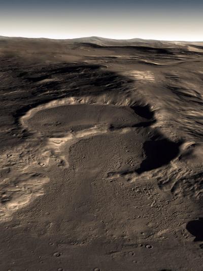 Three Craters in the Eastern Hellas Region of Mars-Stocktrek Images-Photographic Print