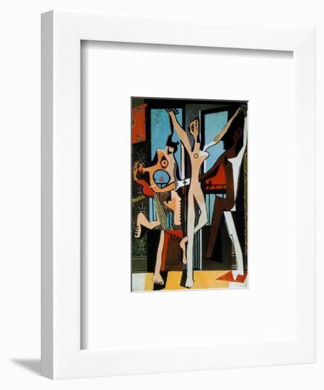 Three Dancers, c.1925-Pablo Picasso-Framed Art Print