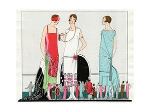 Three Dresses by Beer, Premet and Martial Et Armand