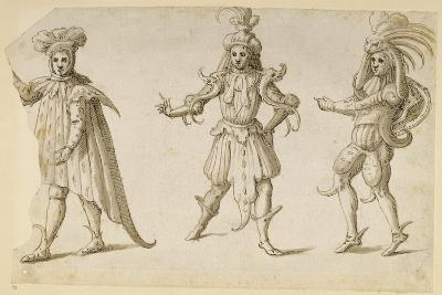 Three Fays, C.1611-Inigo Jones-Giclee Print