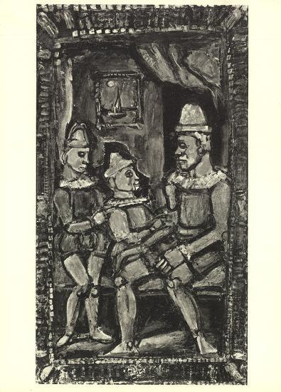 Three Figures-Georges Rouault-Art Print