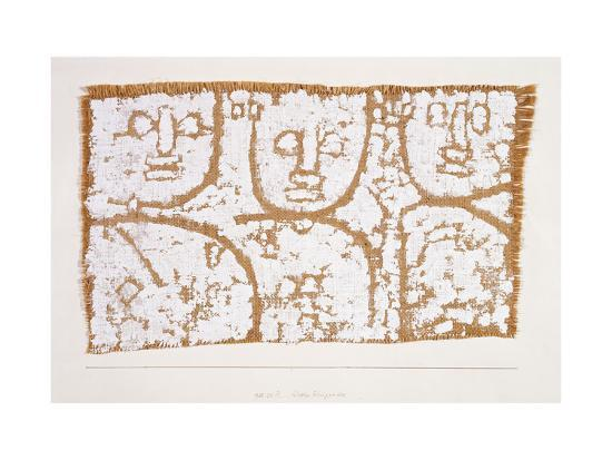 Three Figures-Paul Klee-Premium Giclee Print