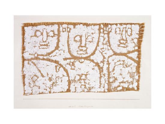 Three Figures-Paul Klee-Giclee Print