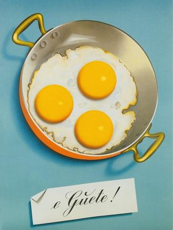 Three Fried Eggs, Guete