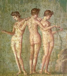 Three Graces, from Pompeii