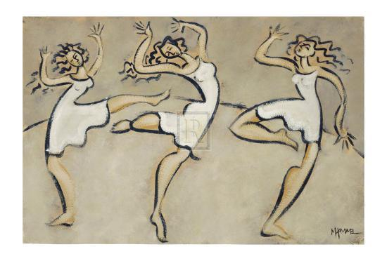 Three Graces-Marsha Hammel-Collectable Print