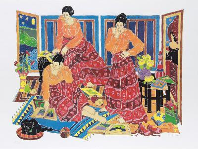 Three Graces-Estelle Ginsburg-Collectable Print