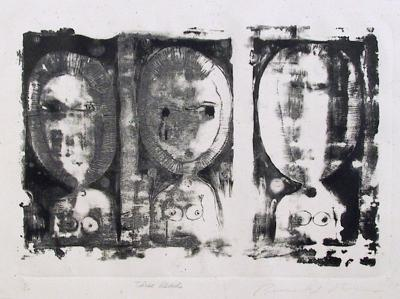 Three Heads-Ronald Jay Stein-Limited Edition