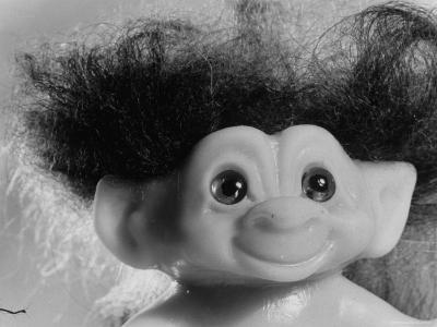 """Three Inch Troll Doll Called """"Dammit"""" Sold by Scandia House Enterprises-Ralph Morse-Photographic Print"""
