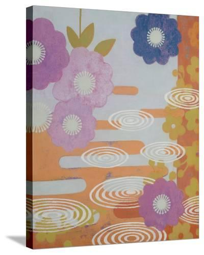 Three Kimonos Right-Sally Bennett Baxley-Stretched Canvas Print
