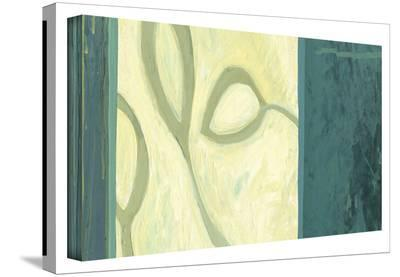 Three Leaves I Gallery-Wrapped Canvas--Gallery Wrapped Canvas