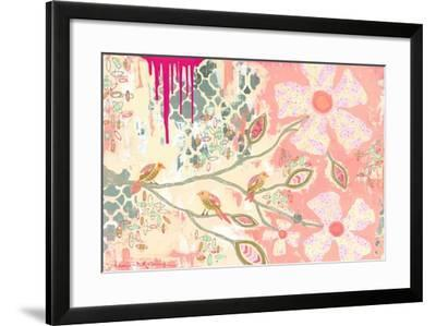 Three Little Birds B-Jennifer McCully-Framed Giclee Print