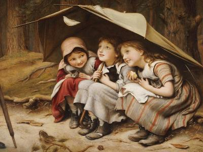 Three Little Kittens, 1883-Joseph Clark-Giclee Print