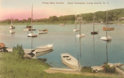 Three-Mile Harbor, East Hampton, Long Island, New York