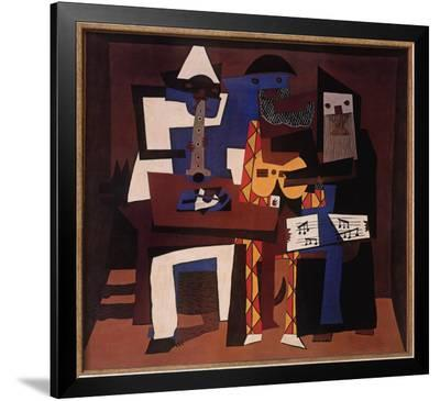 Three Musicians, c.1921-Pablo Picasso-Framed Art Print