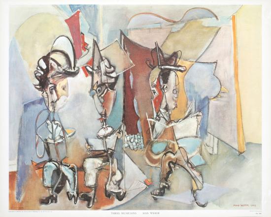 Three Musicians-Max Weber-Art Print