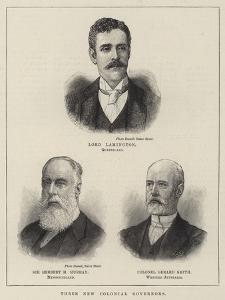 Three New Colonial Governors
