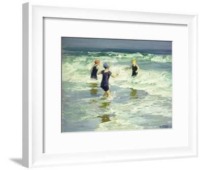 Three of a Kind-Edward Henry Potthast-Framed Giclee Print