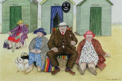 Three on a Beach-Gillian Lawson-Giclee Print