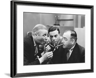 Three on a Match--Framed Photo