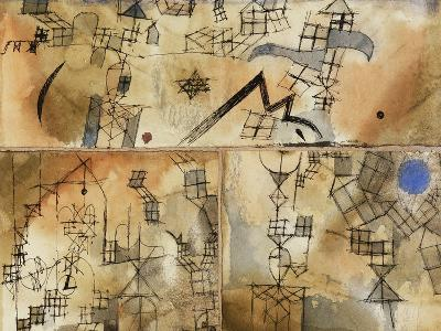 Three-Part Composition-Paul Klee-Giclee Print