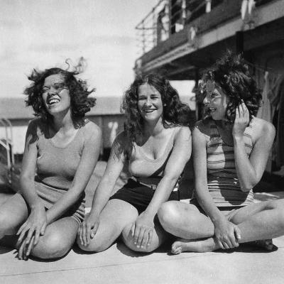Three Passengers on a Cunard Line Cruise to the West Indies, January-March 1931--Giclee Print