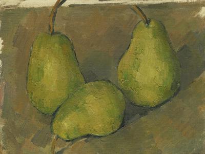 Three Pears, 1878-9-Paul Cezanne-Giclee Print