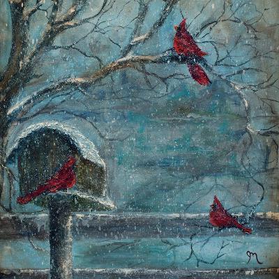 Three Reds-Jodi Monahan-Art Print