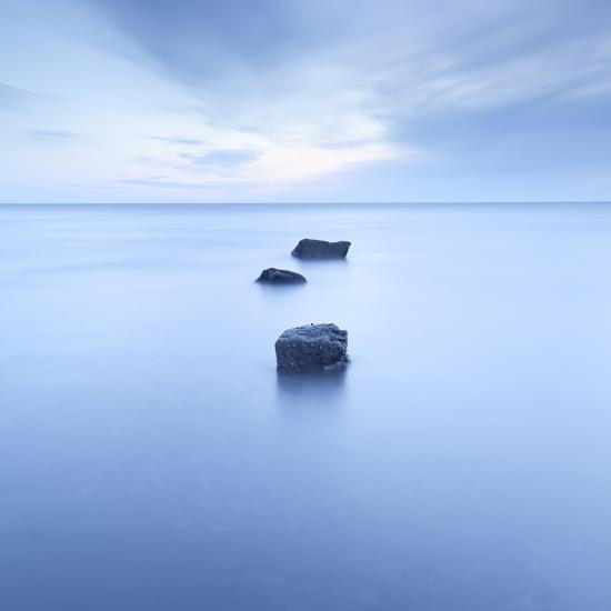 Three Rocks-Doug Chinnery-Photographic Print