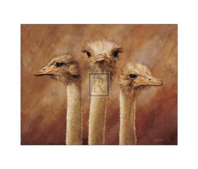 Three's a Crowd-H^ Van Zanten-Art Print
