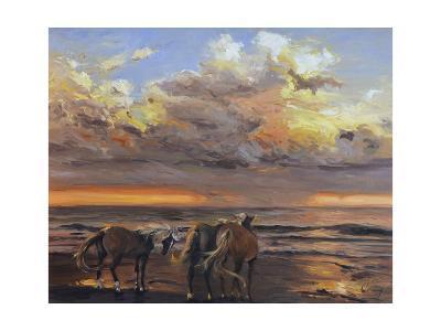 Three's a Crowd-Chuck Larivey-Art Print