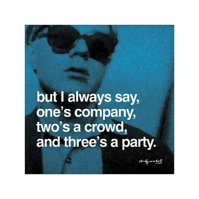Three's a Party--Giclee Print