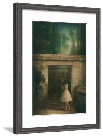 Three Secret Words-Stephen Mackey-Framed Art Print