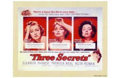 Three Secrets--Art Print