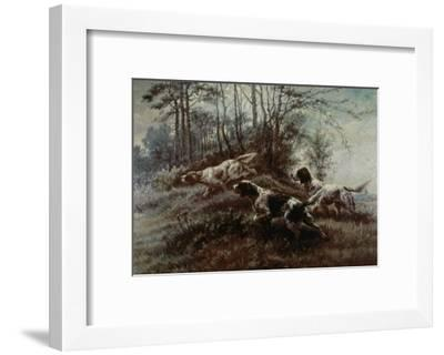 Three Setters Afield-Edmund Henry Osthaus-Framed Giclee Print
