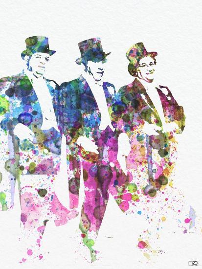 Three Stooges-NaxArt-Premium Giclee Print