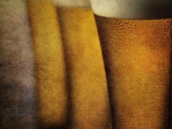 Three Tall Beers-Steve Lupton-Photographic Print