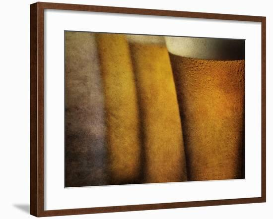 Three Tall Beers-Steve Lupton-Framed Photographic Print