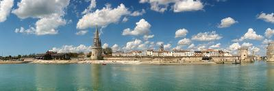 Three Towers at the Port of La Rochelle, Charente-Maritime, Poitou-Charentes, France--Photographic Print
