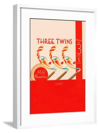 Three Twins Mild Panatelas--Framed Art Print