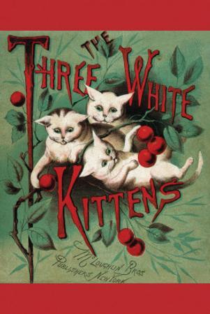 Three White Kittens