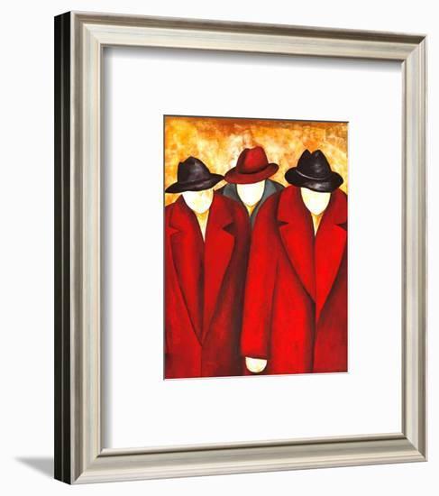 Three Wise Man I-Gisela Ueberall-Framed Art Print