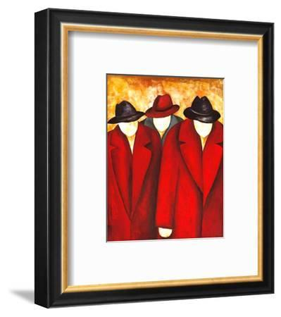 Three Wise Man I-Gisela Ueberall-Framed Art Print