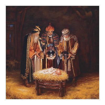 Three Wisemen-Mark Missman-Art Print